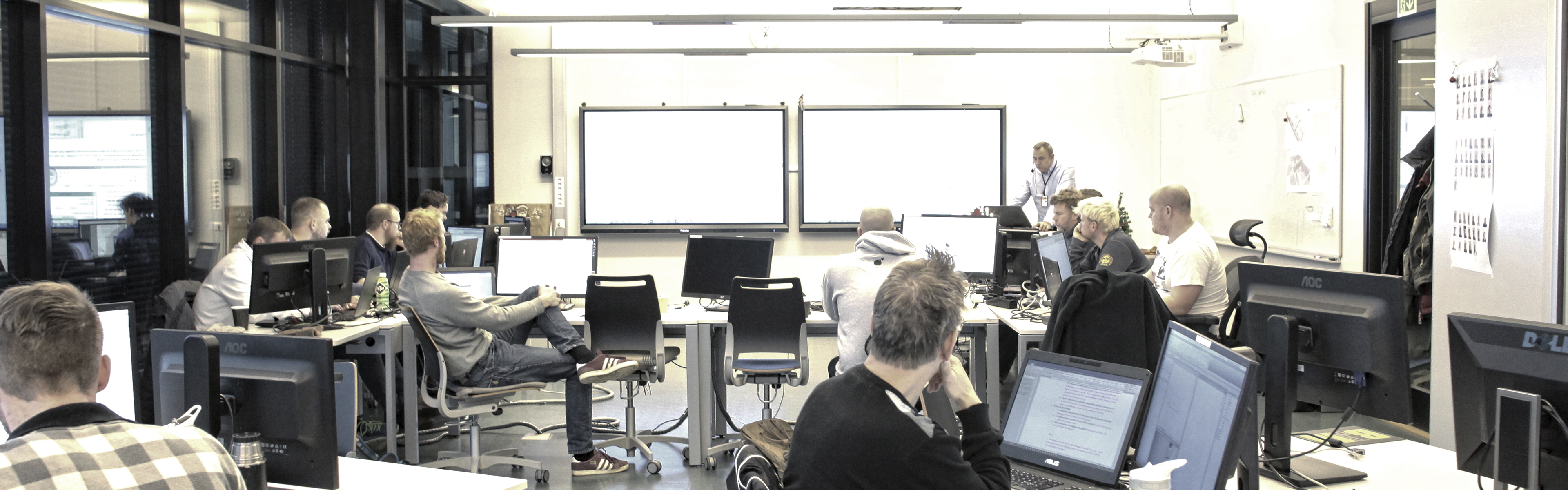 Header Interactive Norway Prowise BIM Fagskolen i Oslo og Akershus Kuben