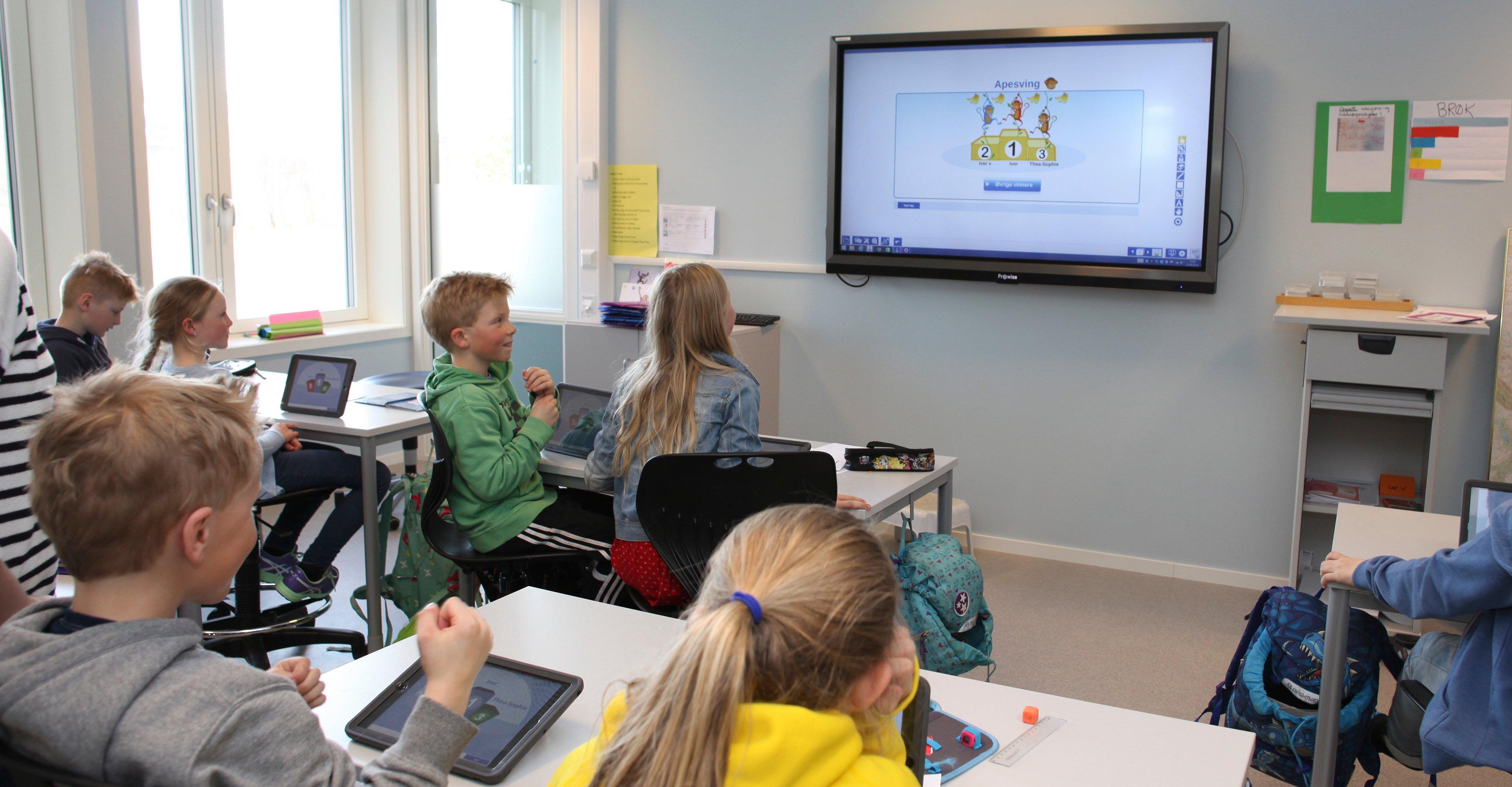 Header Prowise Interaktiv Touchskjerm klasserom