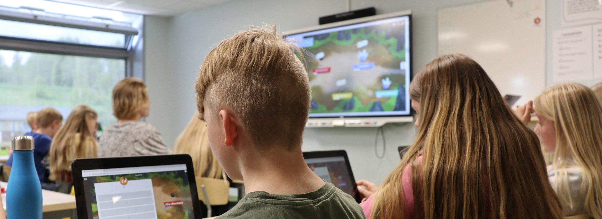 Smart Board interaktiv klasseromsskjerm