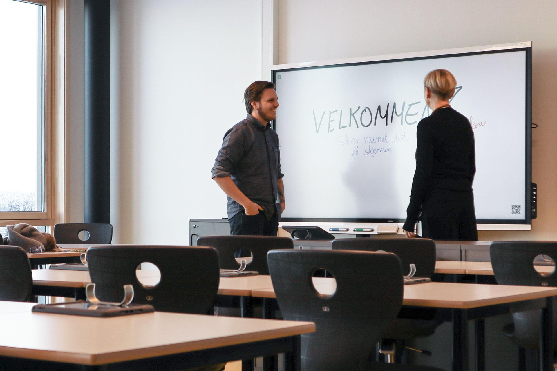 Artikkel Smart board moderne avansert gystadmarka