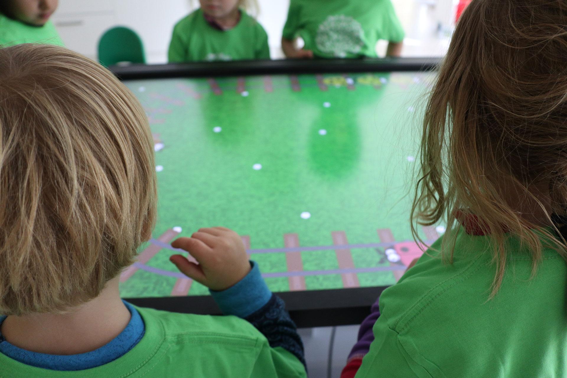 Barnehage Interaktiv pedagogisk oppgaver prowise