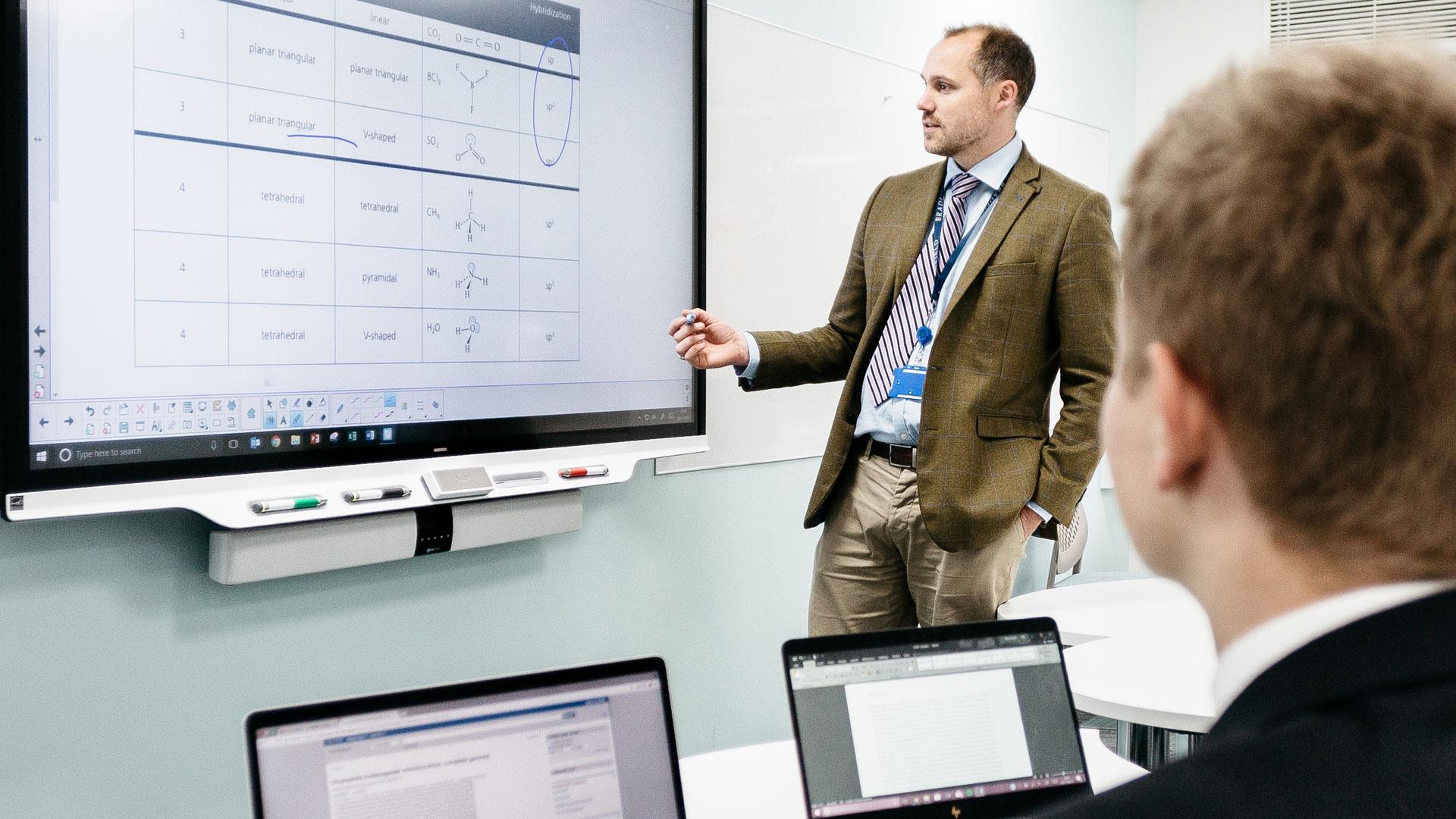 Møterom Interaktiv skjerm Whiteboard SmartBoard