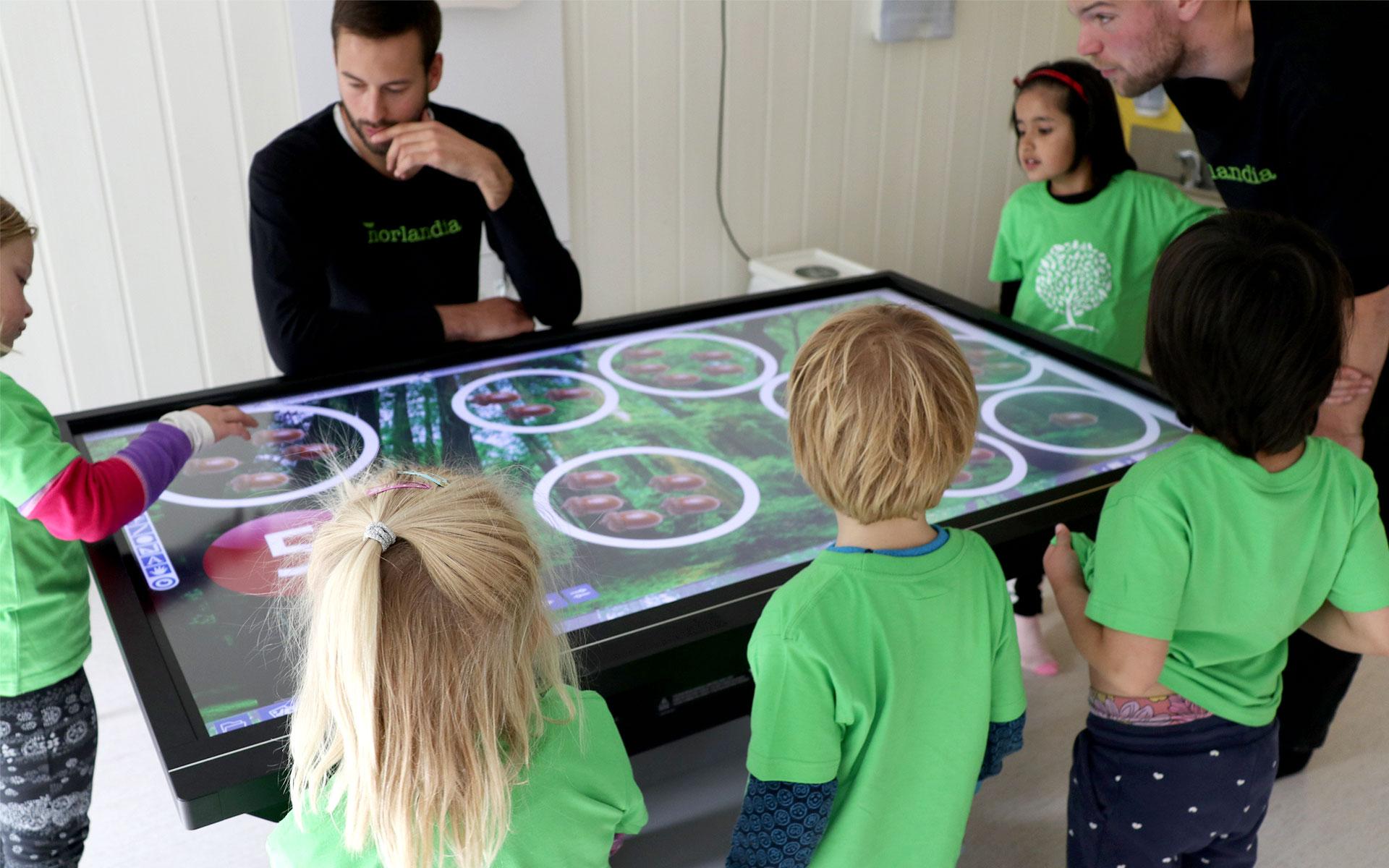 Prowise Barnehage Interaktivitet Reralfag Pedagogisk skjerm norlandia