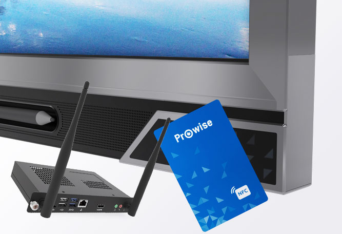 Prowise Touchscreens NFC Teknologi Modul PC