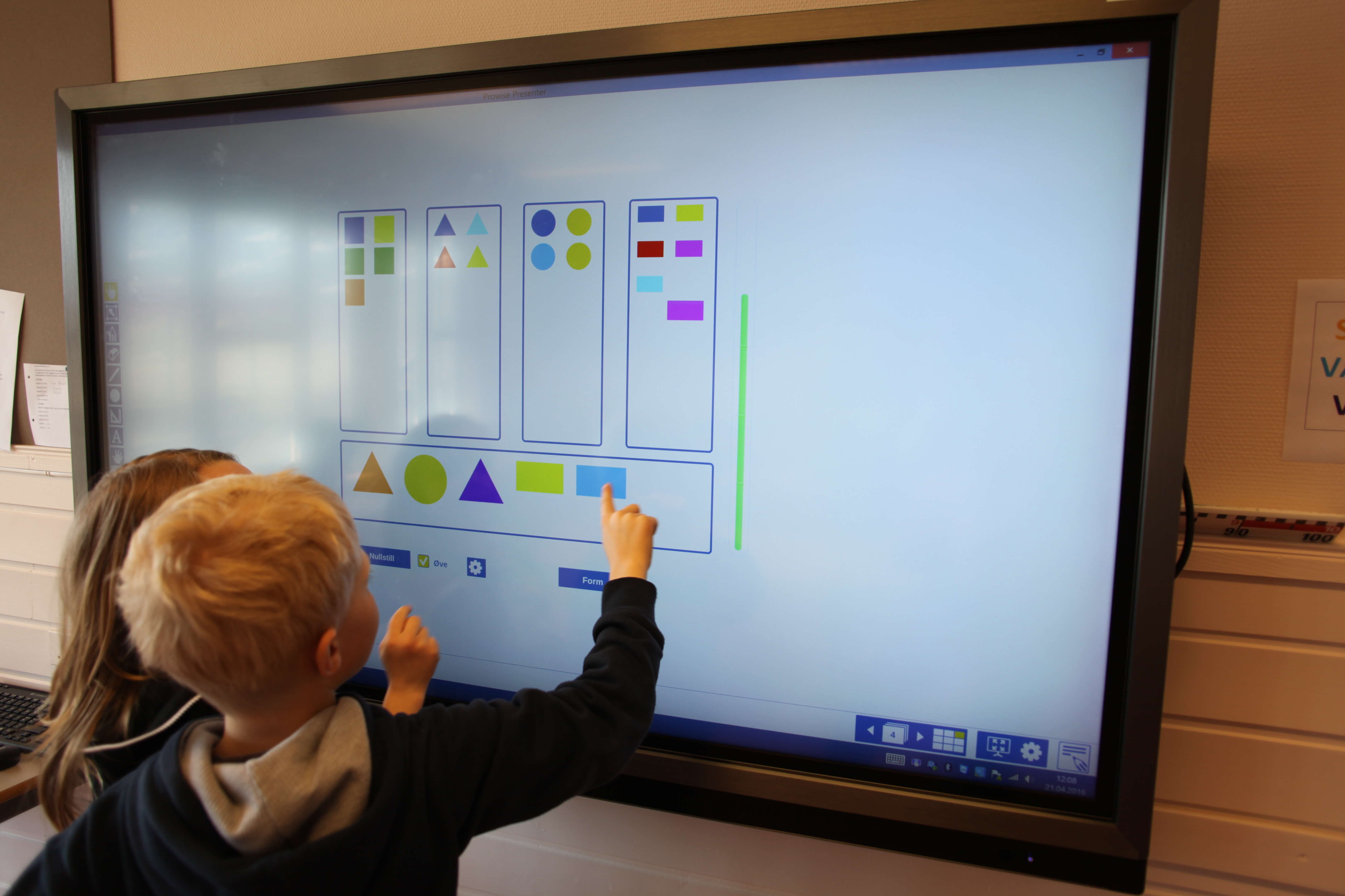 Prowise Interaktiv Touchskjerm Klasserom