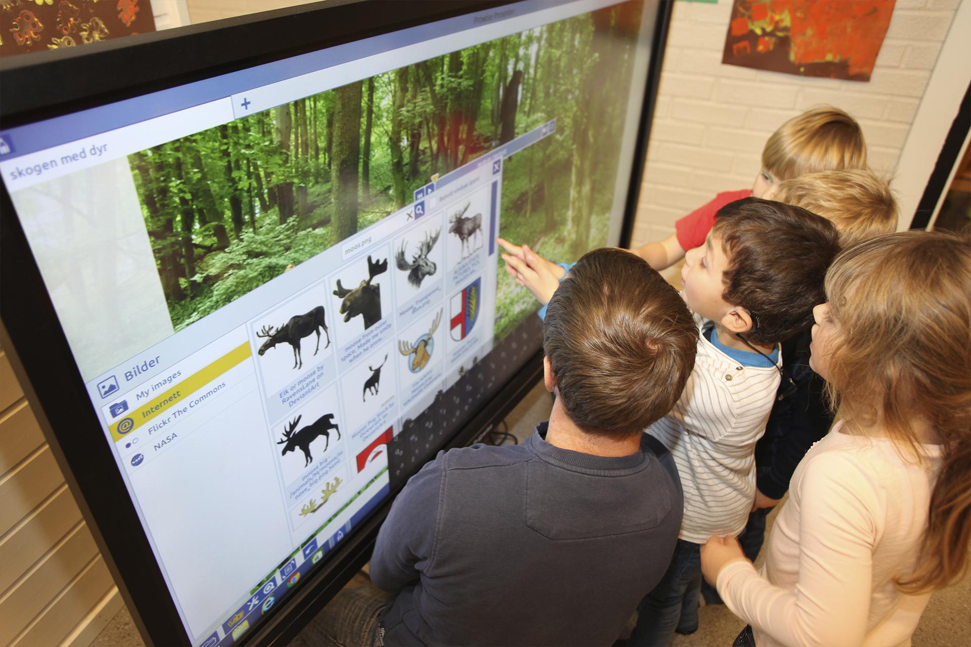 Rakkestad barnehage Prowise interaktiv skjerm