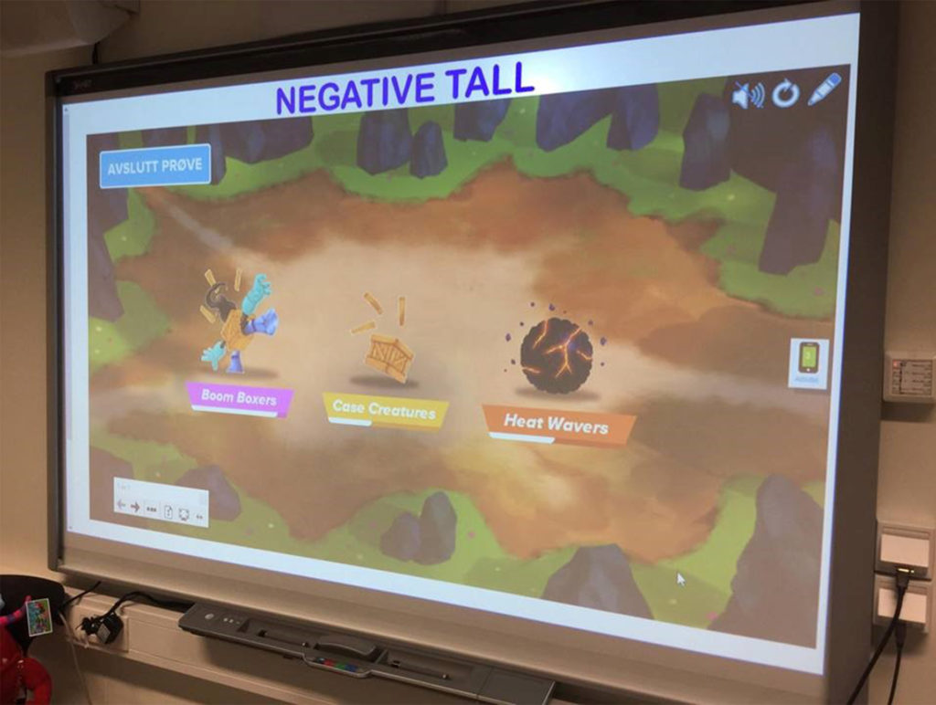 SMART Interaktivitet Touch Tavle Damsgård Skole Interactive Norway