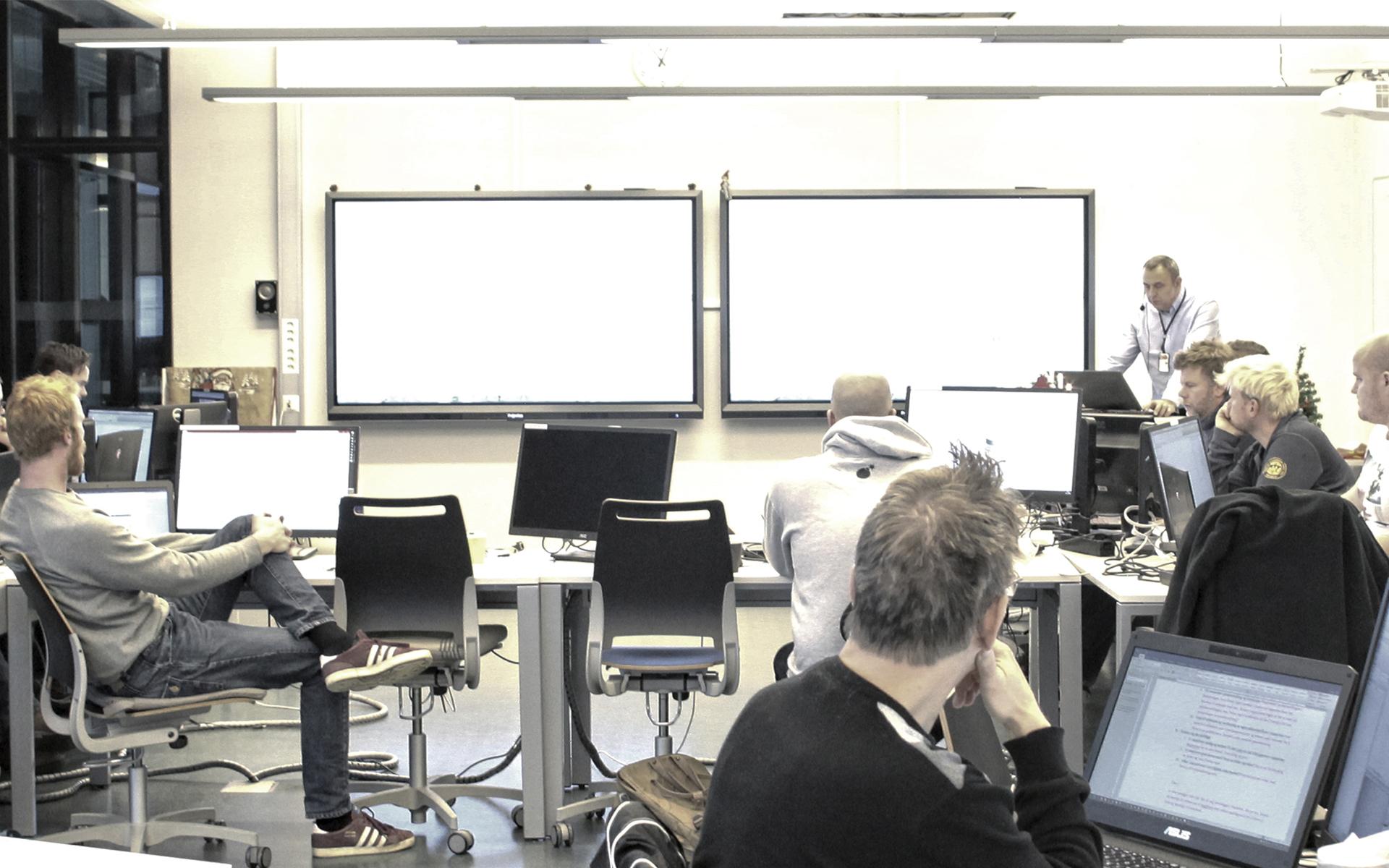Teaser, liten Interactive Norway Prowise BIM Fagskolen i Oslo og Akershus Kuben