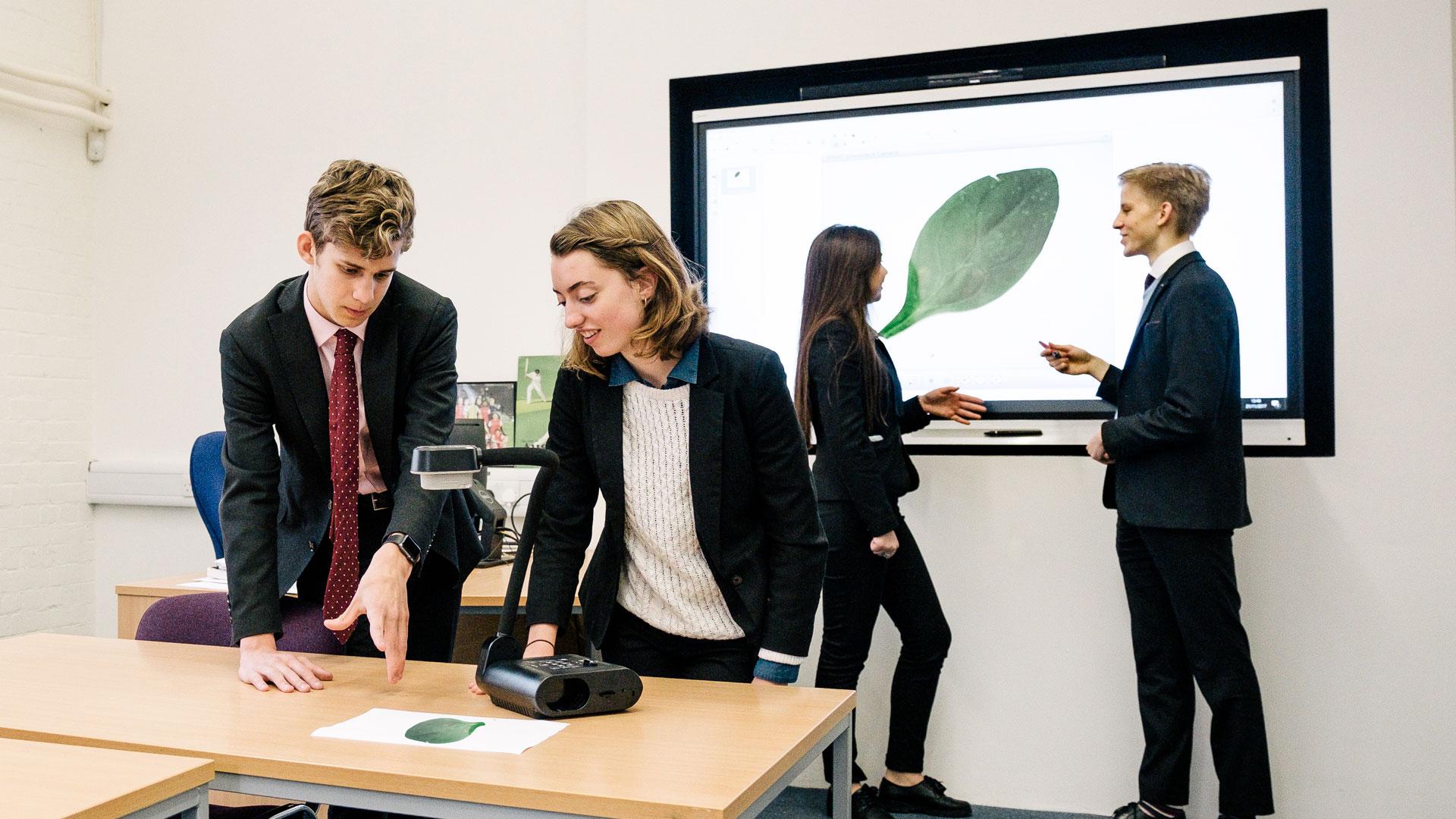 Interaktiv-undervisning-SMART-dokumentkamera