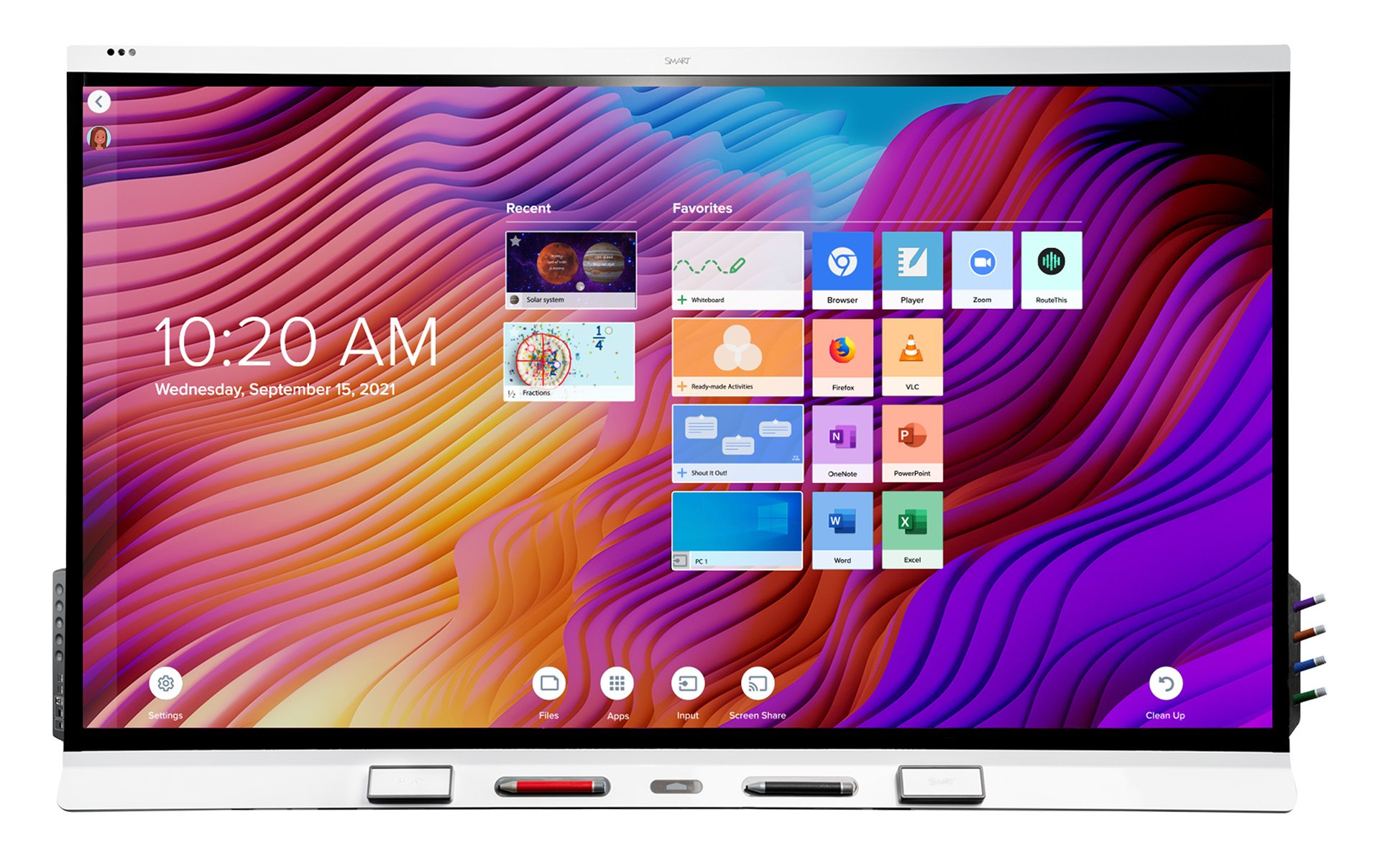 SMARTboard-6000S-interaktiv-skjerm