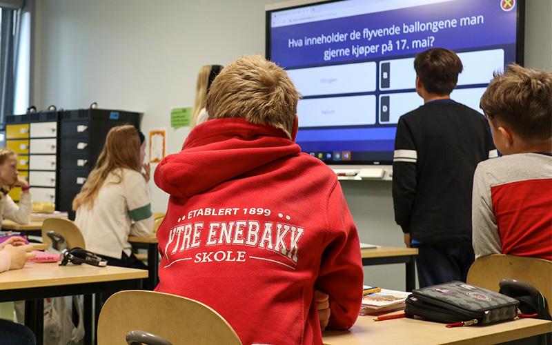 Alt om digitale klasserom